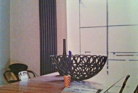 Latticed fruit bowl