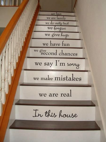 Mission statement/ In This House decal stickers on Etsy