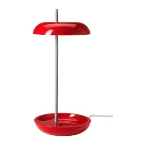 Lekaryd LED light in red. Part bedside light, part gaming icon